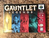 Gauntlet Legends N64 - Factory Sealed Near Mint 1998 H Seam Seal