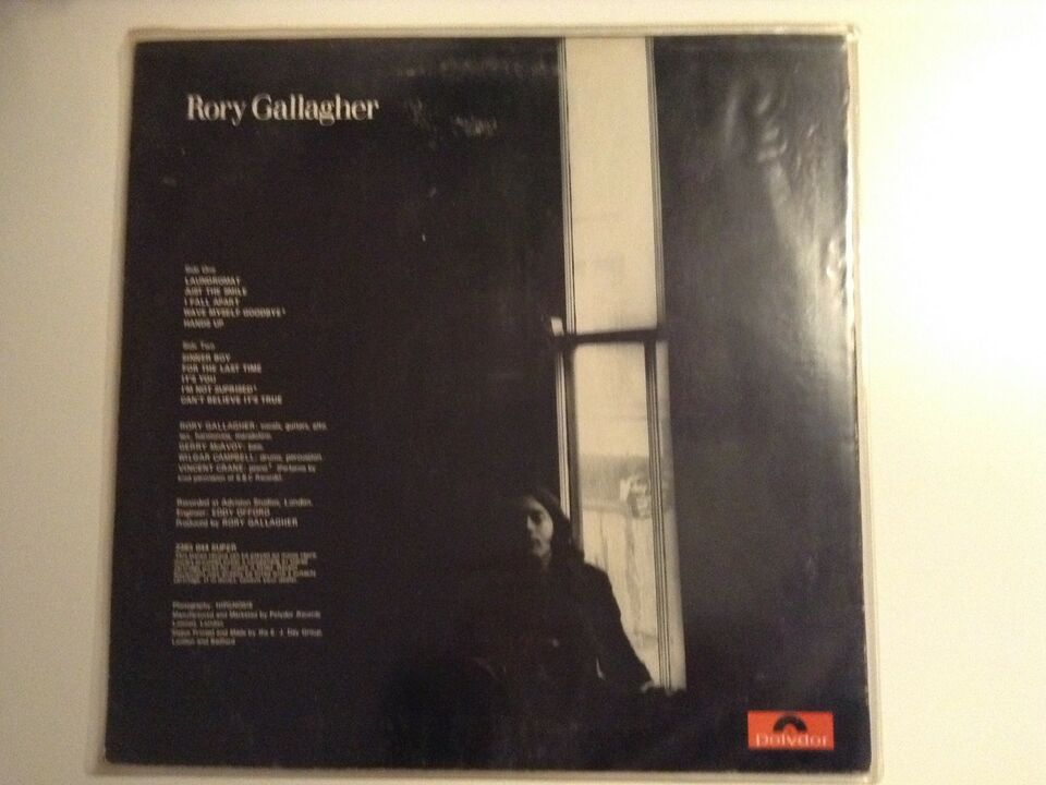 LP, Rory Gallagher, Rory Gallagher