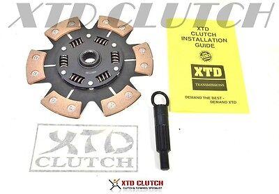 XTD® 6 PUCK STAGE 3 CLUTCH DISC FITS SENTRA G20 200SX SR20DE