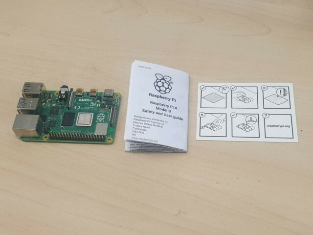 Raspberry Pi 4 Model B 2GB RAM IN HAND UK (V)
