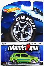 HARE SPLITTER - 2015 Hot Wheels Heritage w/ Real Riders - A Case -