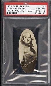 1934-Carreras-Film-Stars-JOAN-CRAWFORD-40-PSA-8-NM-MT