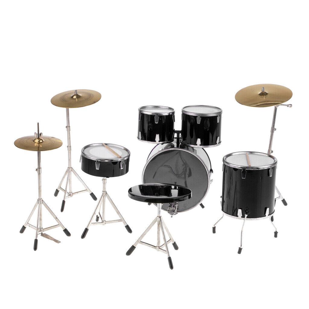 7 teiliges komplettes Schlagzeug Set für 12 Zoll Hot Toys Enterbay Action