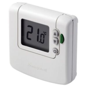 new honeywell digital room stat dt90e hard wire unit with eco rh ebay co uk Honeywell Heat Pump Thermostat Wiring Honeywell Thermostat Wiring Guide