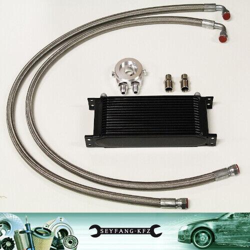 Ölkühler Kit Komplettset 13 Reihen BMW E21 E30 E36 E46 E60