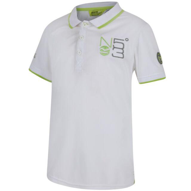 a5274ca1 Regatta Boys & Girls Talor Moisture Wicking Quick Drying Polo Shirt ...