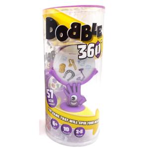 Asmodee DOBBLE 360 per 2-8 giocatori Età 6+