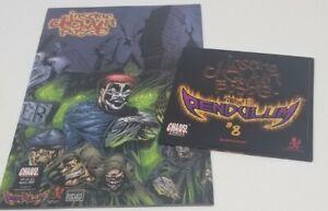 Insane Clown Posse  - The Pendulum 8 Comic Book & CD set shaggy 2 dope twiztid