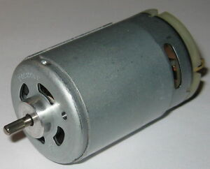 High Torque 555 Size Project Motor Low Speed RS555 DC Hobby Motor 12V-36V