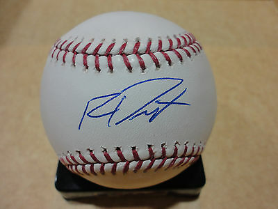 Baseball-mlb Persevering Ryan Dent Boston Red Sox Signed Autograph Major League Baseball W/coa Soft And Light