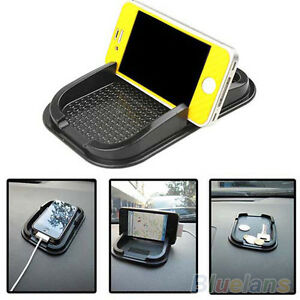 Sticky-Car-Dashboard-Pad-Mat-Anti-Non-Slip-Gadget-Phone-GPS-Holder-Stand-Black