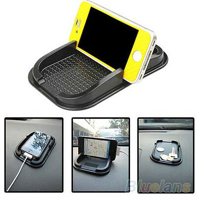 Sticky Car Dashboard Pad Mat Anti Non Slip Gadget Phone GPS Holder Stand Black