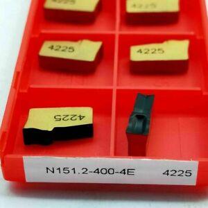 10 pcs N151.2-400-4E 4225 cnc CUTTING carbide inserts cnc machine indeable blade