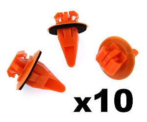 10x-Toyota-Prado-Land-Cruiser-Side-Moulding-Wheel-Arch-Flare-Plastic-Trim-Clips
