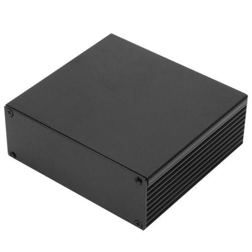 Boîte de Projet Aluminium Boîtier électronique Refroidissement DIY 40x110x100mm