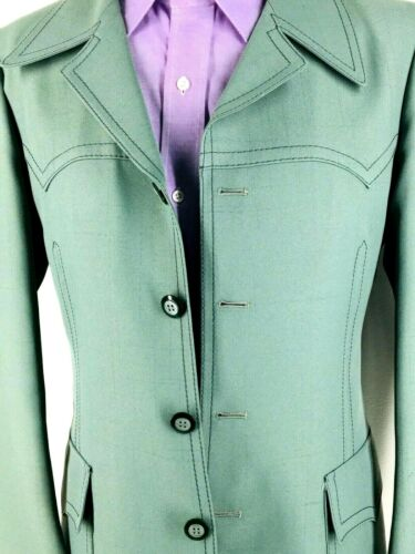 40* H BAR C Ranchwear USA Mens Vintage Mint Green