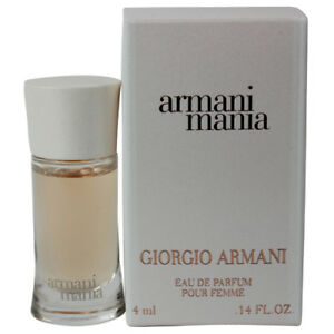 Armani-Mania-by-Giorgio-Armani-for-Women-Miniature-EDP-Perfume-Splash-0-14oz-NEW