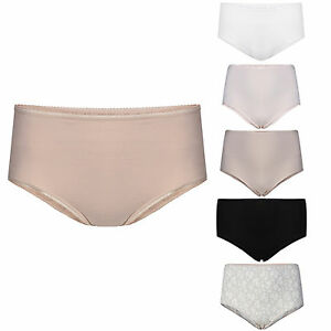 6f656cbbf4a5 Assorted 2 pack Famous Store Group Full Briefs Knickers Cotton Rich ...