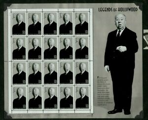 Sheet-of-stamps-Legends-of-Hollywood-Series-Alfred-Hitchcock-20-stamps