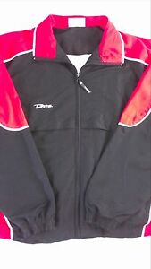 Dita-Windbreaker-Jacket-Lined-Womens-XL-Zip-Pockets-Fitness-Vented-Breathers