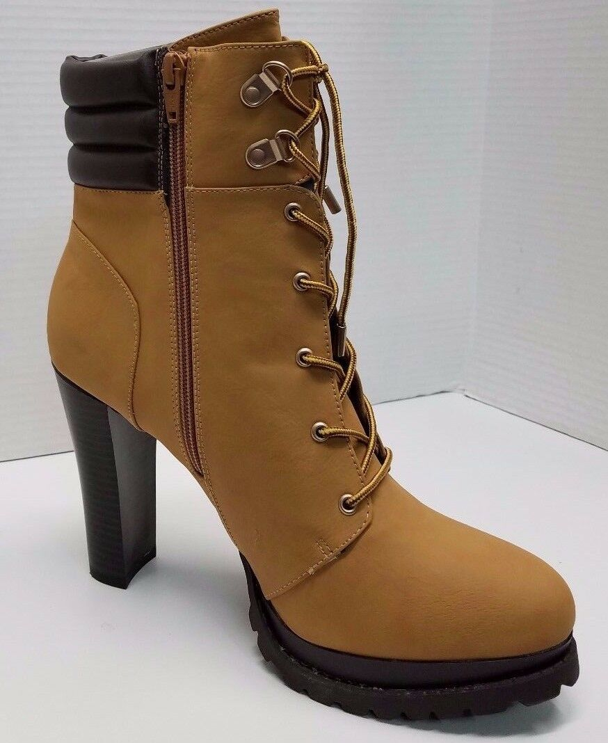 NWOB JENNIFER LOPEZ sz 10 lace up high heel bottes
