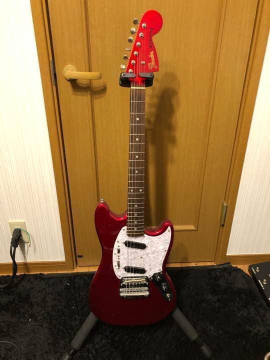 Fender Japan mg mg mg 69 Rojo Raro Vintage popular guitarra eléctrica EMS de Japón F S  bfced9