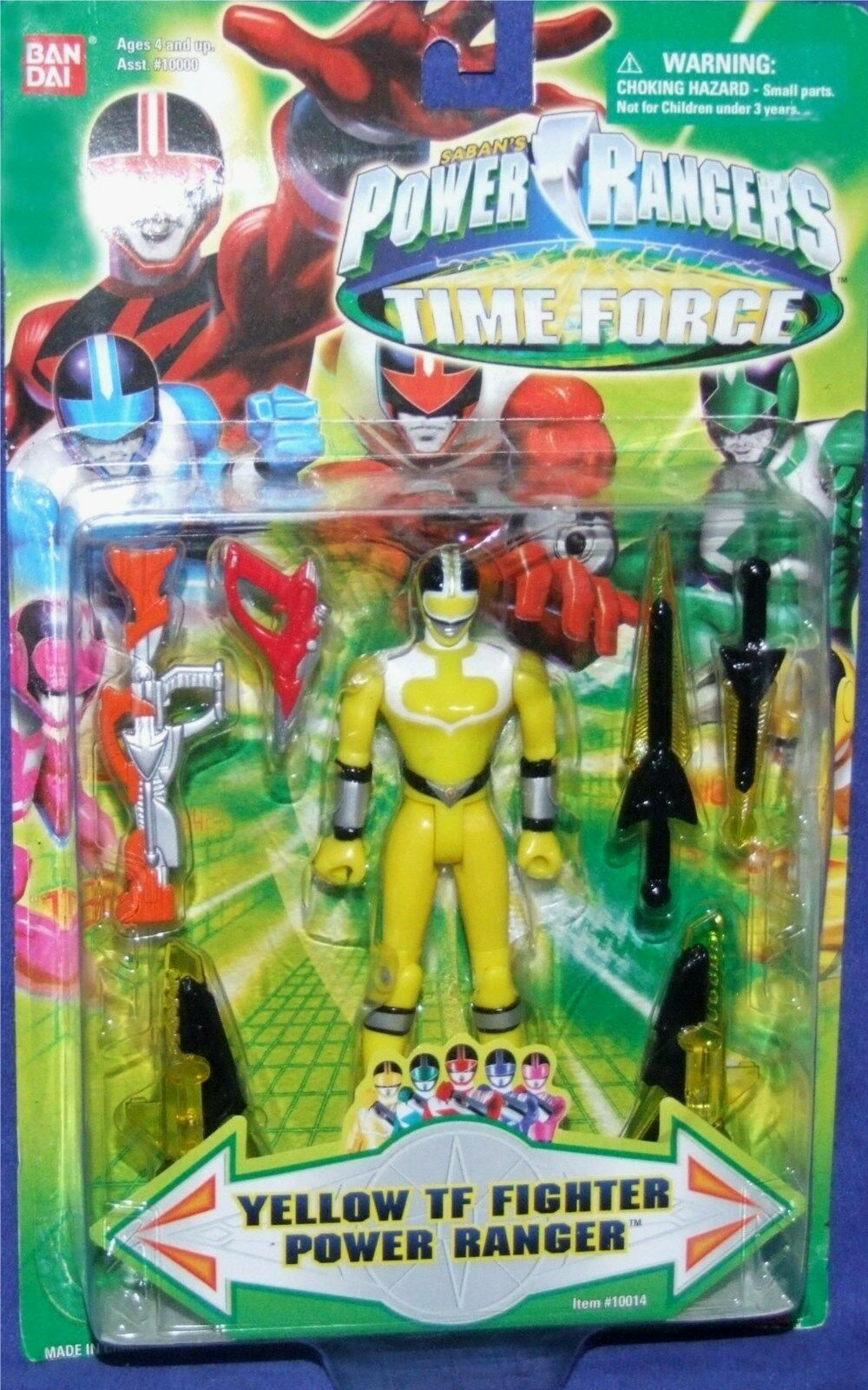 Power Rangers Time Force 5