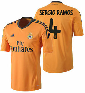 separation shoes 40b1f 3a866 Image is loading ADIDAS-SERGIO-RAMOS-REAL-MADRID-THIRD-JERSEY-2013-
