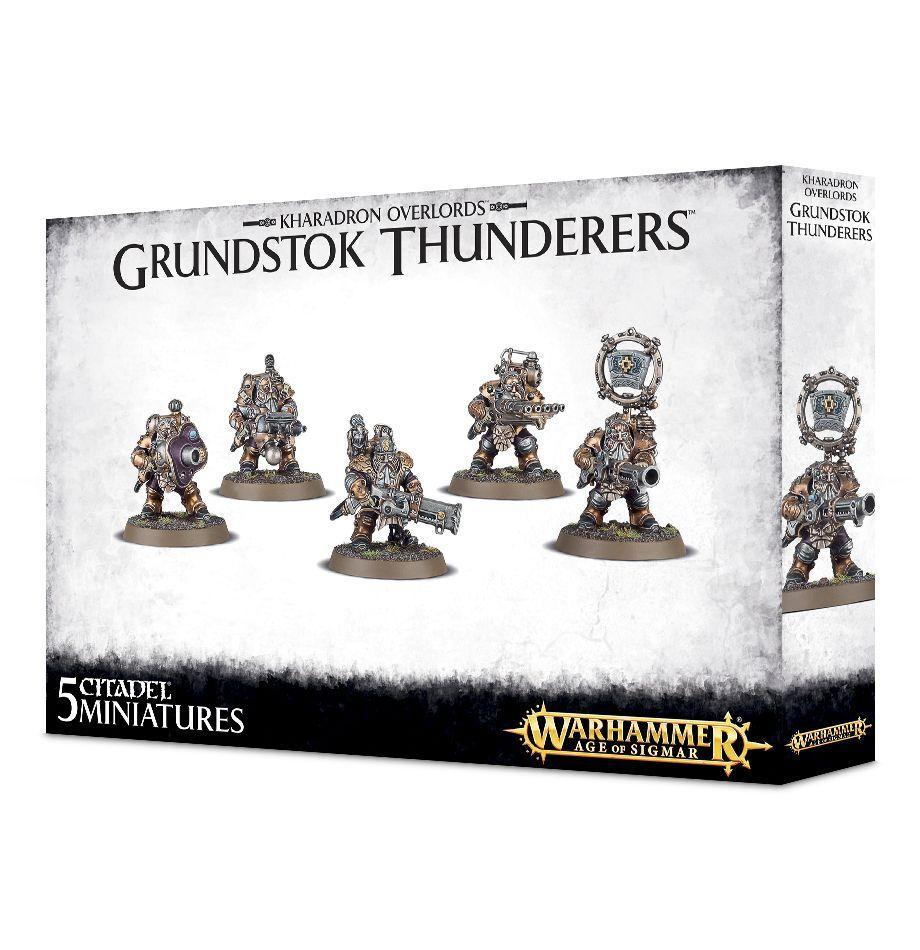 Warhammer Age of Sigmar Kharadron Overlords Grundstok Thunderers plastic box new