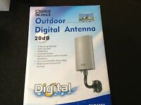 Outdoor Digital Antenna 20db Gain. Easy Installation Fast Shipping Great