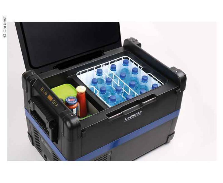 Maxifreezer 50 L Compressor Cooler V. CarBeste, 12V 24V 220-240V WOMO, Caravan, Van