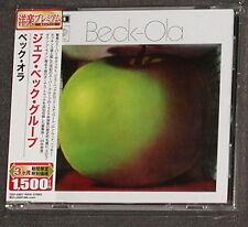 JEFF BECK GROUP Beck-Ola CD EMI-Toshiba JAPAN 2006 MINT Rod Stewart Ron Wood