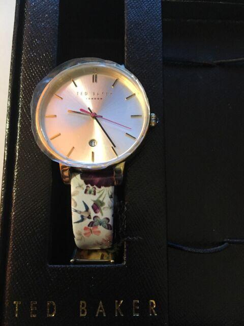 9695d18d929e Ted Baker London KATE Leather Strap Dress Watch Set Floral 10031559  225