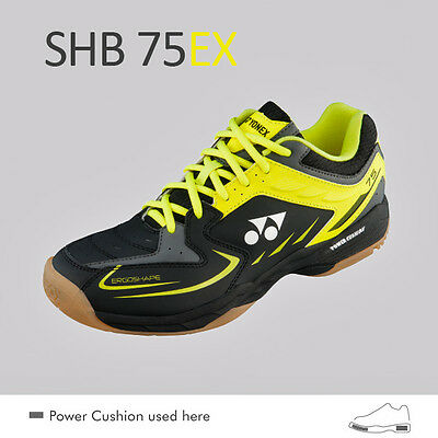 Yonex SHB 75EX Men's Badminton Squash Indoor Court Shoes Trainers -2015 / 2016