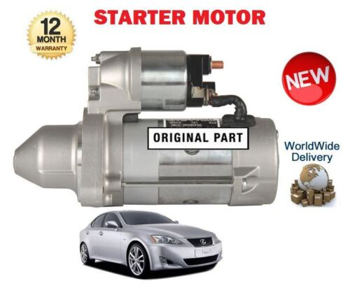 /> NUOVO Starter motor Per LEXUS is200d is220d 2AD-FTV 2AD-FHV 2005
