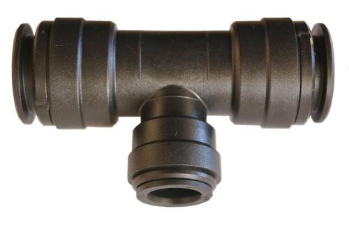 Los conectores o enchufes aire comprimido t-trozo tubo reduzierend conector 22x15mm