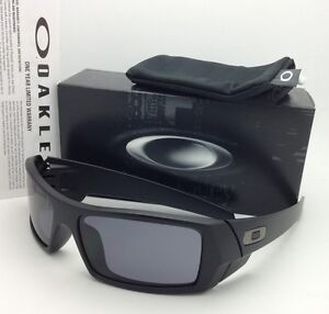 a428eefce54 New OAKLEY Sunglasses GASCAN 03-473 60-15 Matte Black Frames with ...