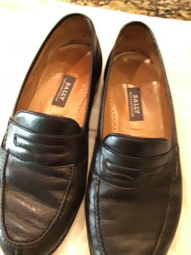 Bally Men's Black loafers 8EEE