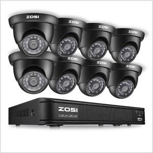 ZOSI-8CH-720P-1080N-DVR-Outdoor-IR-LEDs-Dome-CCTV-Security-Camera-System-Kit