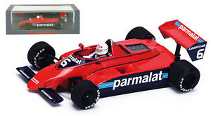 Spark S4788 Brabham BT49 #6 Canadian GP 1979 Nelson Piquet 1//43 Scale