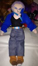 "HTF. DRAGONBALL Z TRUNKS FROM FUTURE? 13"" TALL STUFFED PLUSH DOLL 2001 Kelly Toy"