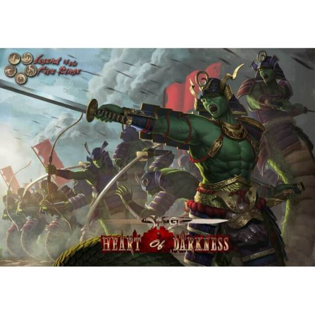 L5R legend of the five rings SIEGE Heart of Darkness complete multiplayer game
