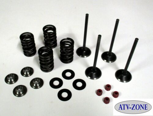 Stainless Steel Intake and Exhaust Valves with Spring Kit Honda CRF 450X 05-15