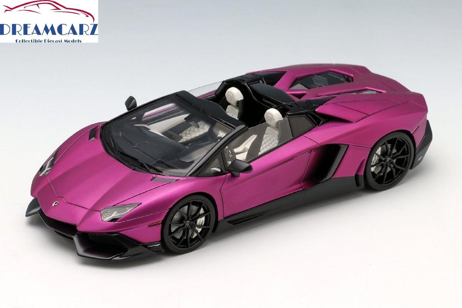 Make Up   EIDOLON EM286H 1 43 Lamborghini Aventador LP720-4 Roadster Ltd 30 pcs