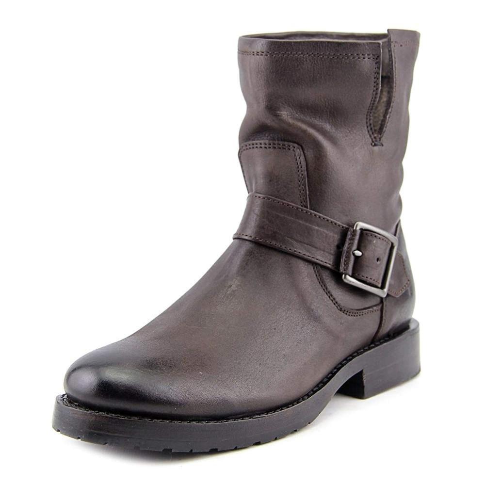 FRYE Women's Natalie Short Suede Engineer Boot