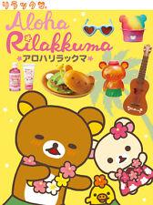 Re-Ment Miniature Sanrio San X Rilakkuma Aloha Love Hawaii Full Set of 8 pcs