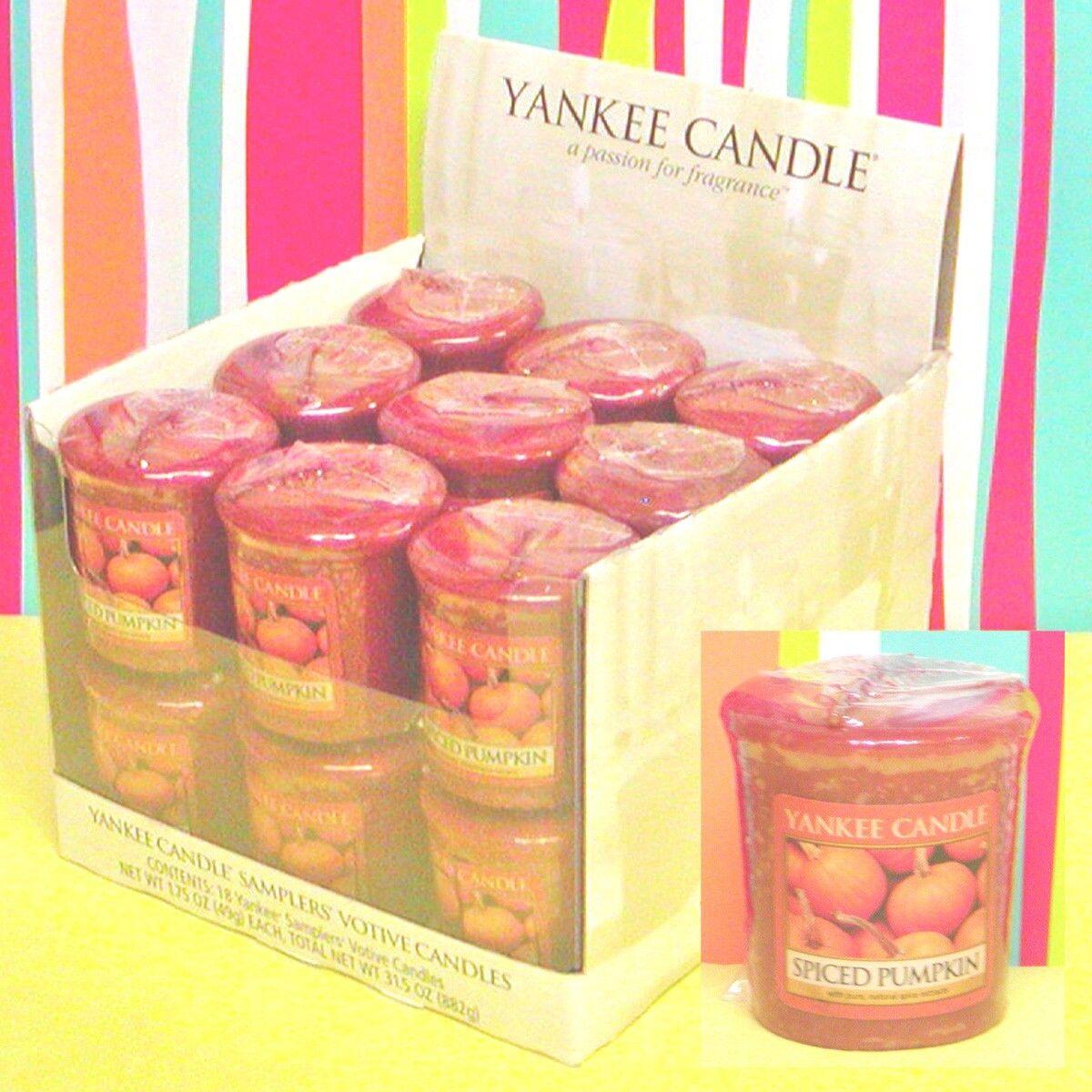 (P-Z) Yankee Candle VOTIVE CANDLES Case 18 Votives - SCENT CHOICES New & Retirot