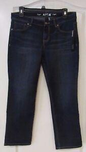 911daac103d Apt. 9® Embellished Roll-Cuff Capri Jeans Women s PETITE Sz 10P NWT ...