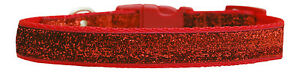 Rojo-Escarlata-SPARKLE-MEDIANO-Raza-Perro-Collar-Para-Cachorro-4-Tamanos-1-9cm