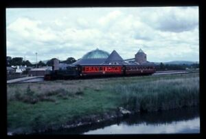 PHOTO-IRISH-RAILWAY-2-6-T-LOCO-NO-5-3-FT-GAUGE-AT-TRALEE-1997